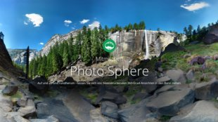 Photo Sphere: neues Online-Netzwerk, How-To-Video und Panoramas transformieren