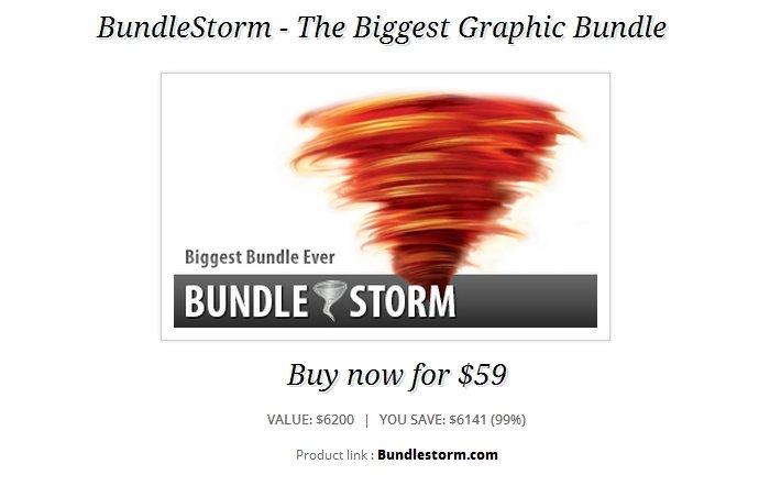 Bundlestorm - Ein riesiges Grafik Bundle für ca. 46 Euro