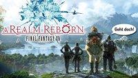Final Fantasy XIV - A Realm Reborn Beta: MMO-Standard mit schöner Welt