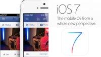 Die Facebook-App im iOS 7-Look