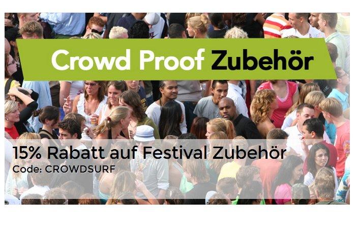 15 % Rabatt auf Festival Zubehör für das Smartphone bei Proporta