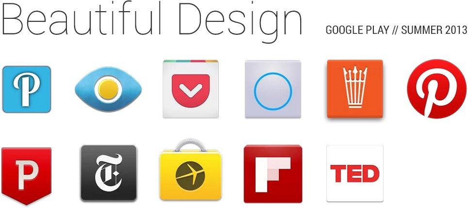 Fashion Week für Apps: Google empfiehlt schöne Anwendungen