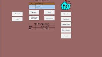 Heiz- und Nebenkosten für Excel 2010