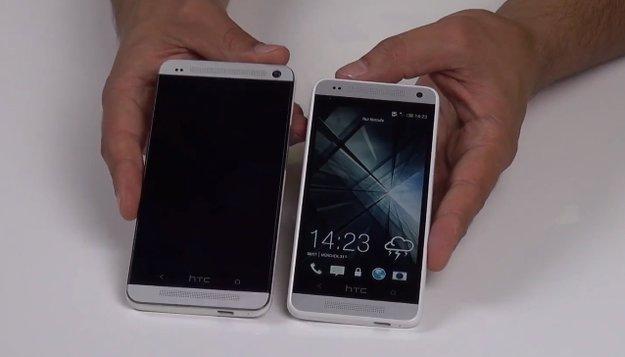 HTC One mini: Ausgepackt und hochgefahren [Video]
