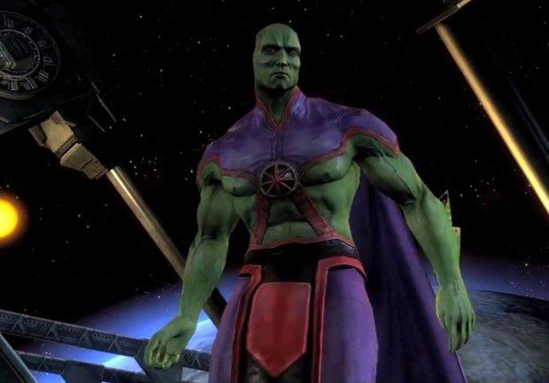 Injustice: Götter Unter Uns: Martian Manhunter DLC angekündigt