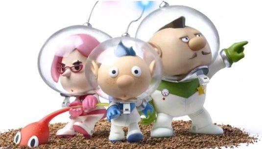 Pikmin 3: Neuer Trailer zeigt die Hauptcharaktere