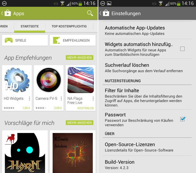 Play Store-App: Version 4.2.3 aus Android 4.3 aufgetaucht [APK-Download]