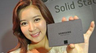 Neue Samsung-SSDs 840 EVO und NVMe-SSDs: Schnell, schneller, größer