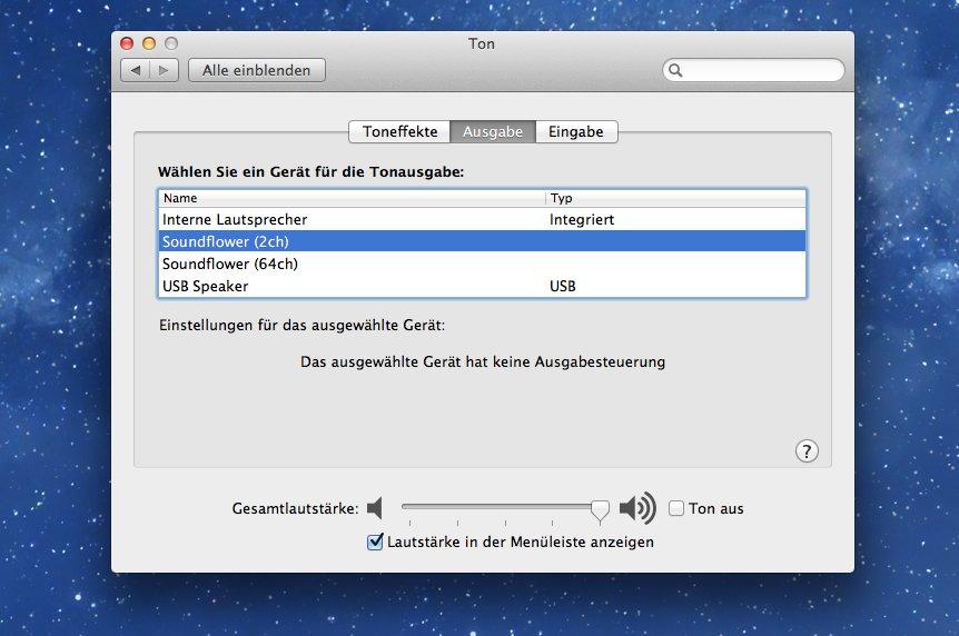 Audio aufnehmen am Mac: Eine kostenlose Lösung