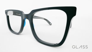 Interessantes Google Glass Design-Konzept