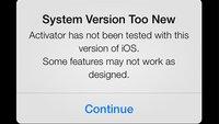 iOS 7 Jailbreak: Activator auf aktueller Beta-Version installiert