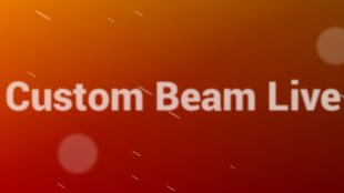 Custom Beam Live Wallpaper: Phase & Sun Beam in allen Farben, mit mehr Optionen