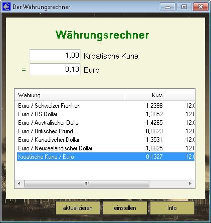 Euro Umrechnung