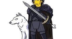 Hodor meets Homer: Game of Thrones im Simpsons-Style