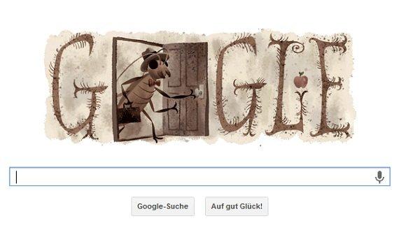 Google Doodle feiert Franz Kafkas 130. Geburtstag