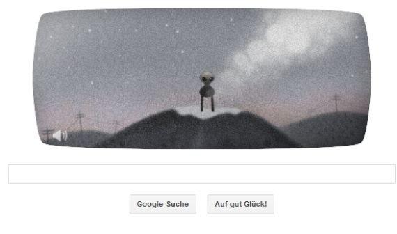 Google Doodle mit Point-and-Click-Adventure: Spiel das Alien von Roswell