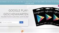 Google Play: Geschenkkarten-Store-Finder jetzt online