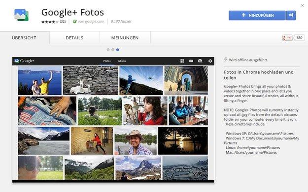 Google+-Fotos-App für Chromebook Pixel bald auch für den Mac?