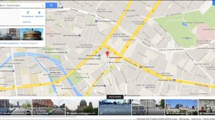 Google Views: Photospheres in Google Maps integriert