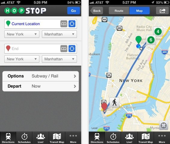 Apple-Tochter HopStop bringt App-Update mit neuen Funktionen
