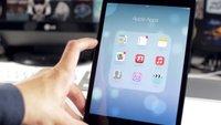 iOS 7 für iPad: Erste Hands-On-Videos
