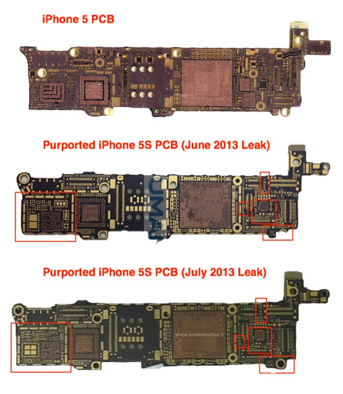 iPhone 5S Logic Board