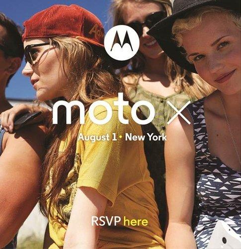 Moto X: alle Specs, offizieller Vorstellungstermin, erstes Pressefoto