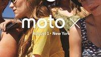 Moto X: Kurz nach der Vorstellung schon zu kaufen? (Gerücht)