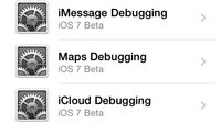 iOS 7 Beta 3: Apples Debug-Settings aktivieren