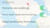 iOS 7 Beta 3: Versteckte Sonderfunktionen in Karten-App freischalten [Anleitung]