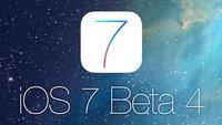 iOS 7 Beta 4 für Entwickler veröffentlicht