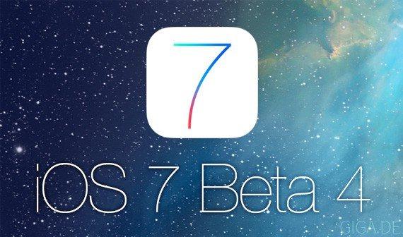 iOS 7 Beta 4 soll heute Abend veröffentlich werden [Update: verfügbar]