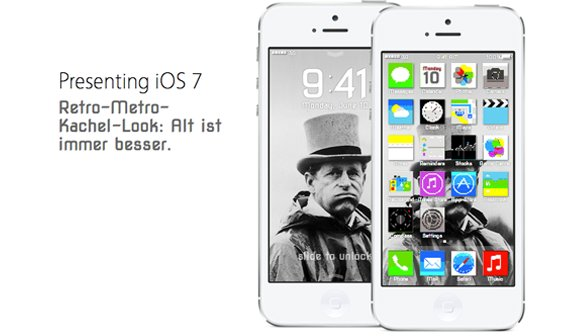 Webanwendung: iOS 7 zum selbst designen