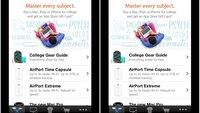 iOS 7 Beta 3: Retina-Auflösung für iPhone-Apps auf Nicht-Retina-iPads