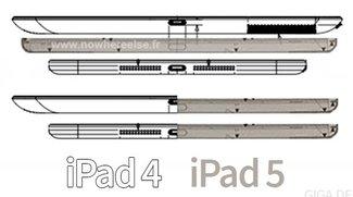 iPad 5: Baupläne aufgetaucht, zeigen dünneres Design ähnlich iPad mini