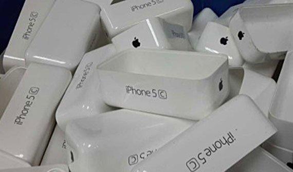 """iPhone 5C: Foto zeigt angeblich Verpackungen des """"iPhone 5 Color"""""""