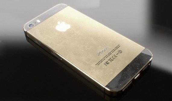 iPhone 5S: Sehenswerte Renderings zeigen goldene Farbvariante