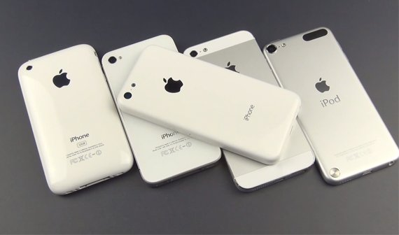 iPhone Light vs. iPhone 5, iPod touch etc. (Video)