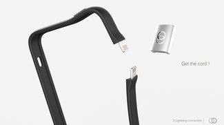 iPhone 5: Bumper als Ladekabel - Juice up