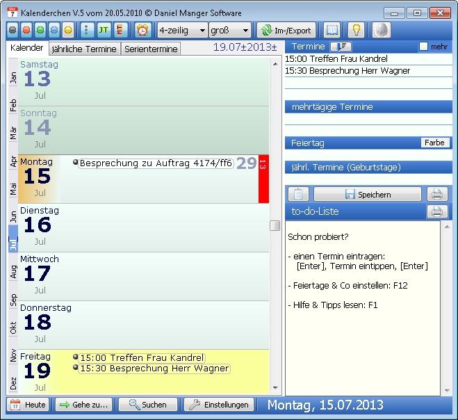 Organizer Freeware: Gute Terminplaner und Kalender – GIGA