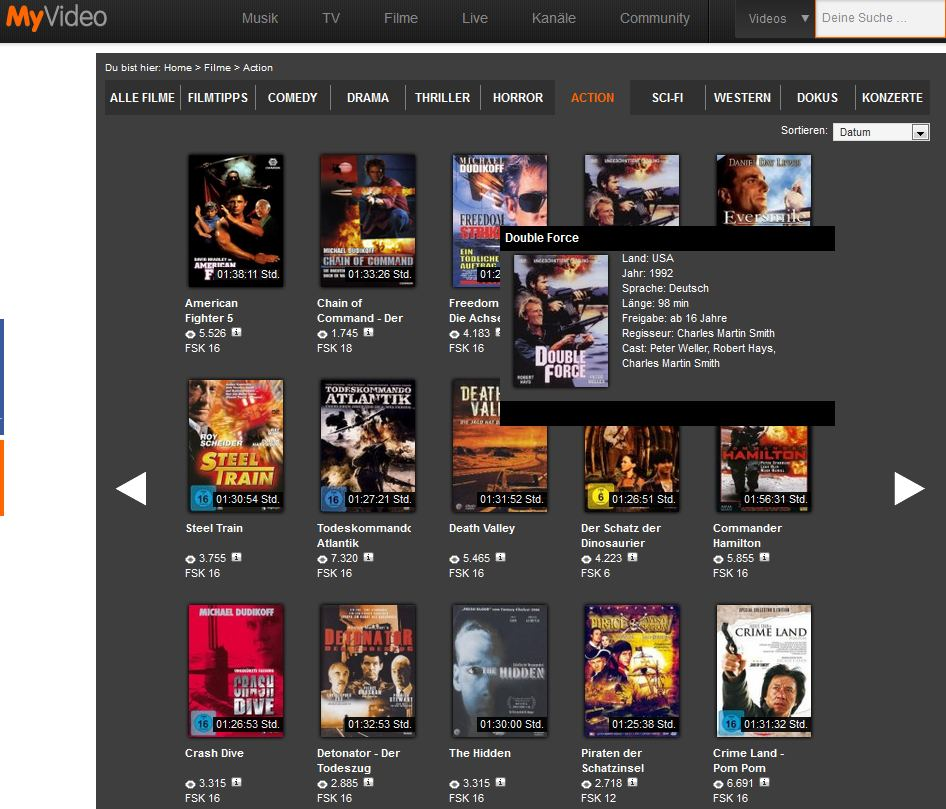 alte filme online schauen