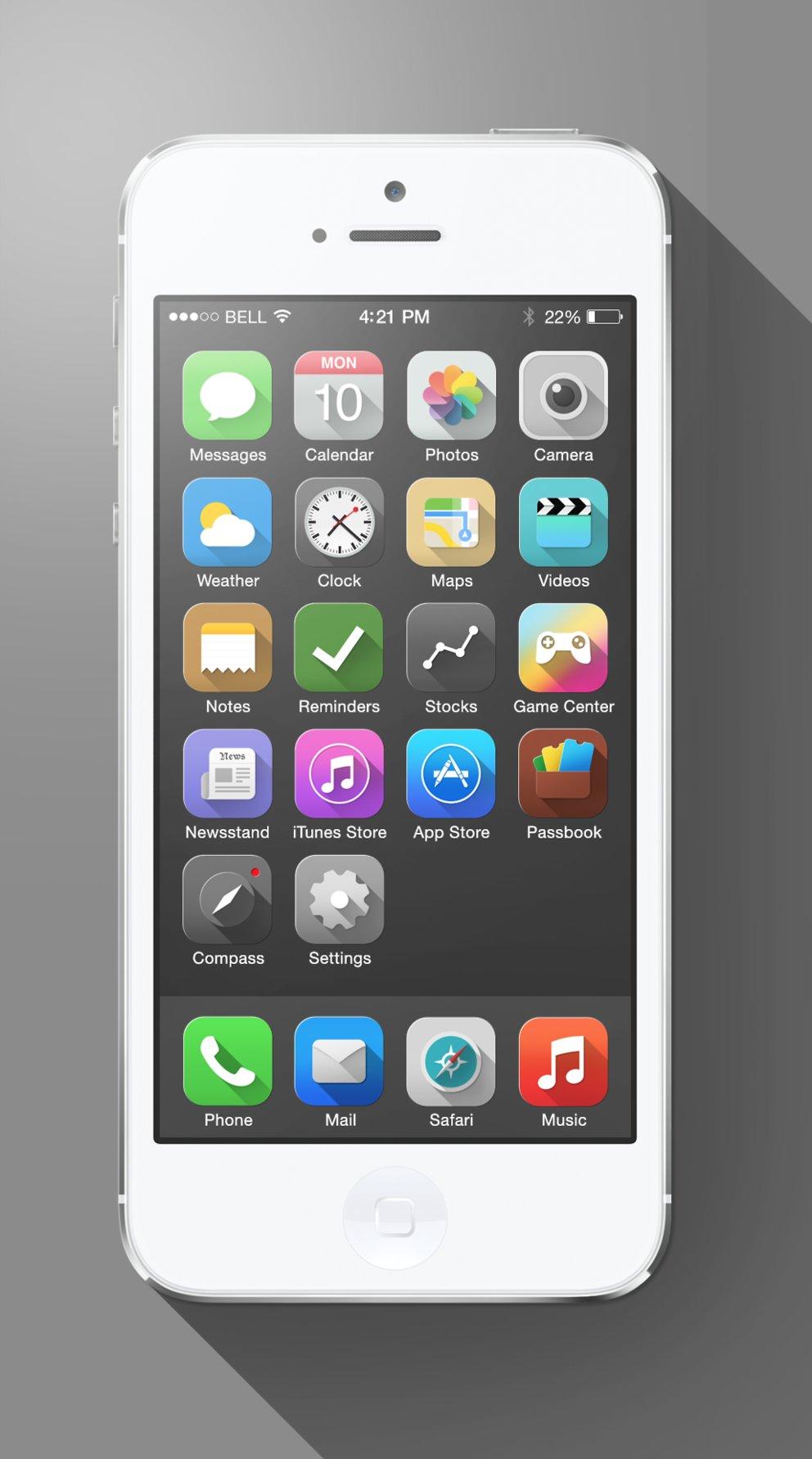 Konzept iOS 7