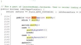 Android 4.3: Hinweise auf automatisch sortierten App-Drawer