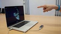 Leap Motion Controller: Eine grüne Banane im Test