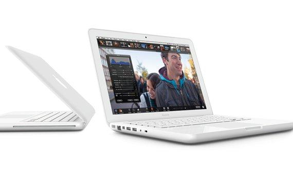 Klasse Schnappschuss: Das originale MacBook in der Testphase