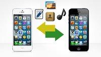 Daten von iPhone zu iPhone übertragen (Musik nur über Umwege)