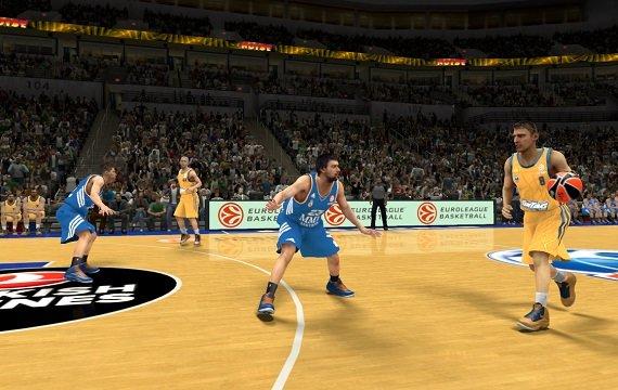 NBA 2K14: Zum ersten Mal mit Euroleague Basketball