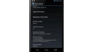 Nexus 4: Bessere Benchmarks mit Android 4.3