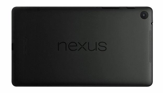 New Nexus 7: Render-Bilder, Größenvergleich mit Vorgänger, Sichtung in Prospekt