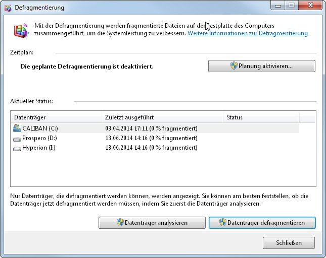 Defragmentierung: So wird die PC-Festplatte schneller